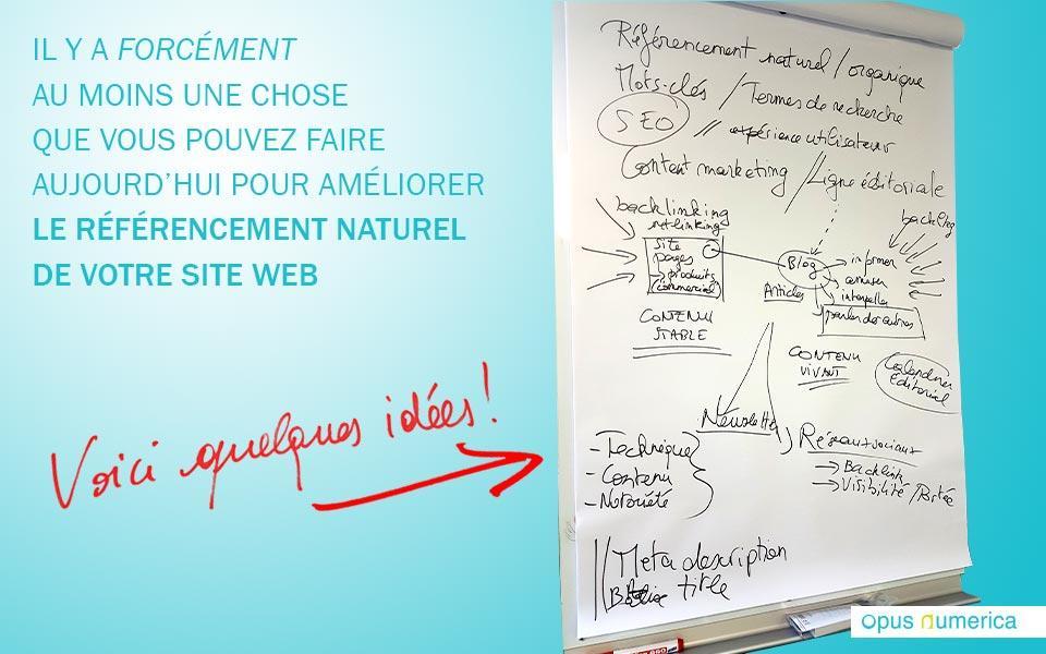 Améliorer le référencement naturel de votre site web