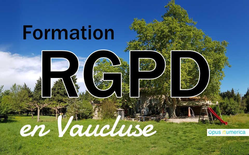 Gestion et protection des données (RGPD)
