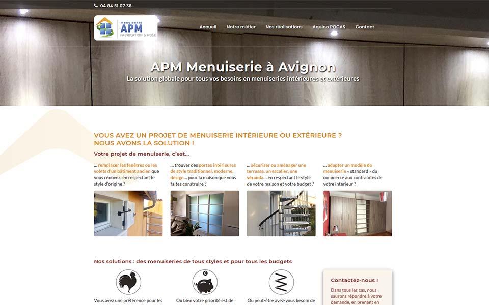 Création de site web - Site vitrine pour artisan