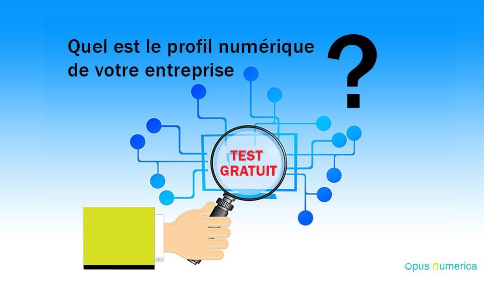 Quel est le profil numérique de votre entreprise ? TEST GRATUIT